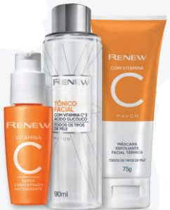 Kit Renew vitamina C antioxidante