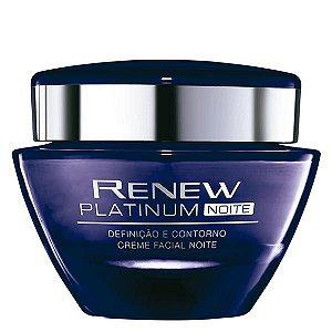 Renew Platinum Creme Facial Noite 50 g