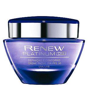 Renew anti idade Platinum Creme Facial Dia FPS 30 50 g