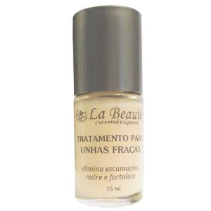 BASE TRATAMENTO PARA UNHAS FRACAS LA BEAUTÉ 15 ml
