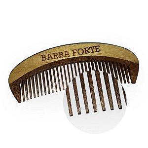 PENTE EM MADEIRA PARA  BARBA FORTE 12.5CM PT003