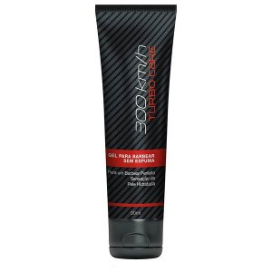 300 Km/h Turbo Care Gel para Barbear 90 g