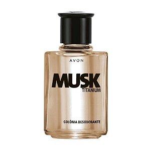 Musk Titanium Colônia Desodorante