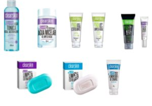 Kit Avon Clearskin 9 Itens Com Água Micelar - Anti Acne