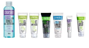 Kit Clearskin 7 Itens Anti- Acne E Cravos