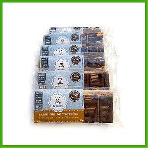 Barra de Proteína com Castanhas e Chocolate Zero - 60g