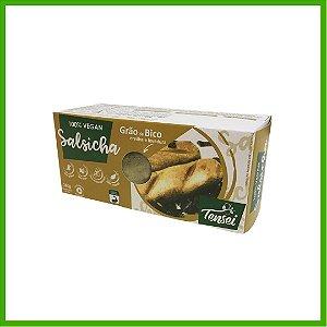 Salsicha Vegana de Grão de Bico, Ervilha e Levedura Nutricional - Tensei
