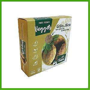 Veggets Vegano de Grão de Bico com Cenoura e Beterraba - Tensei