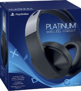 Head Fone PS4 Platinum