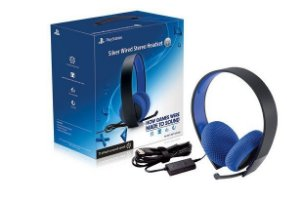 Headset Silver PS4