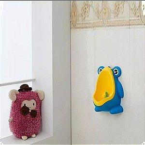 ac5ad5b05 Mictório Sapinho Azul Amarelo (Ajuda no desfralde)