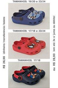 Crocs-Babuche-Papete / Modelos e tamanhos no Zap 3198848-4125 / R$26,90-28,90