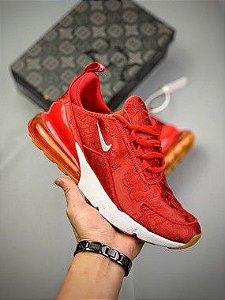 Tênis CLOT x Nike Air Max 270 Red Silk