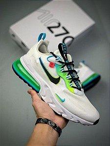 "Nike Air Max 270 React ""White/Light Blue"""