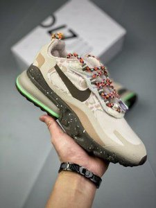 Tênis Nike Air Max 270 React Light Wood Brown