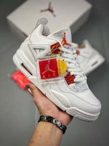 Tênis Air Jordan 4 Retro OG - Orange Metallic