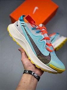 Tênis Nike Pegasus Trail 2 Blue Orange
