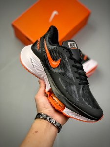 Tênis Nike Air Zoom Alphafly NEXT% Preto e Laranja