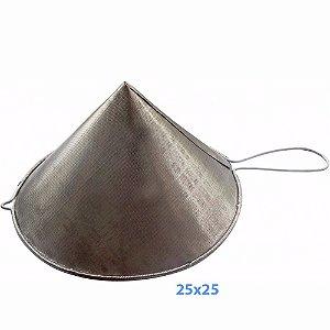 Coador de Óleo Chinoy 25x25 cm Inox
