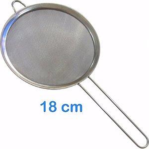 Peneira em Inox 18cm para Sucos
