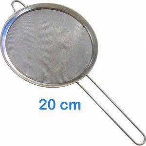 Peneira em Inox 20 cm para Sucos