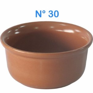 Cumbuca Refratária N° 30 de Cerâmica Estilo Barro