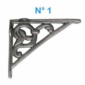 Cantoneira de Ferro Fundido 17 x 13,5 cm N° 1
