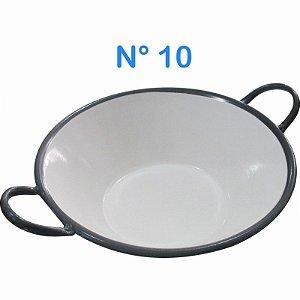 Tacho Esmaltado N°10 Para Frituras 1,0 Litro