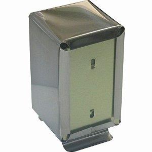 Porta Guardanapos Duplo Em Inox Tv Vertical