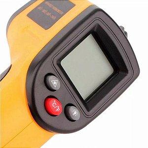 Termômetro Laser Digital De Precisão -50 C° A 400 C°