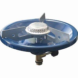 Fogareiro Simples Azul De Alta Pressão Para Botijão P2