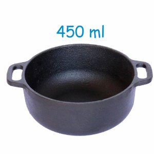Cumbuca De Ferro Fundido 450 Ml