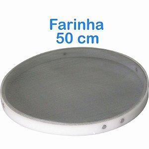 Peneira De Farinha 50cm Com Bordas Em Polietileno