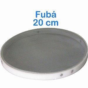 Peneira de Fubá 20cm com Bordas em Polietileno