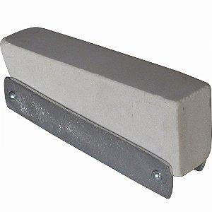 Pedra de Amolar 8 Polegadas com Base de Alumínio