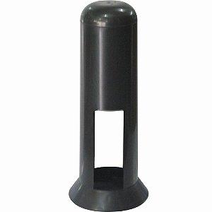 Porta Canudos de Plástico Simples Preto