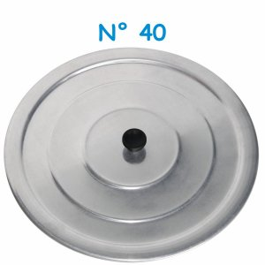 Tampa Avulsa N° 40 de Alumínio com Pomel