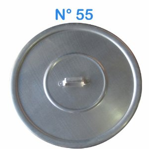 Tampa Avulsa N° 55 de Alumínio com Alça