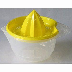Jarra Espremedor de Laranja Limão e  Frutas em Plástico 500ml Varias Cores