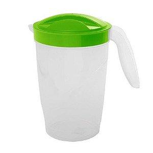 Jarra Plástica  2 Litros para Sucos, Água e Bebidas Várias Cores