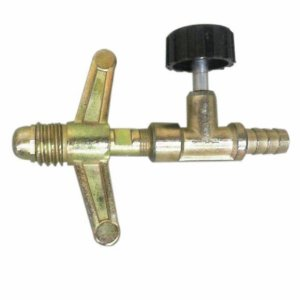 Registro de Gás de Alta Pressão para Botijão P13 saída 5/16 BM