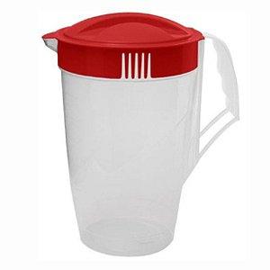 Jarra Água Sucos e Bebidas Plástica Várias Cores 4 Litros