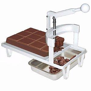Picador Triturador De Chocolate Em Barra Bombom Trufas Ovos de pascoa Cascata pão de Mel Confeitos