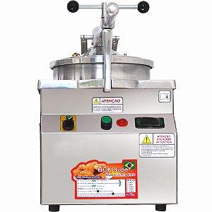 Fritadeira Elétrica de Frango Industrial sob Pressão 18 Kg 1 Cuba