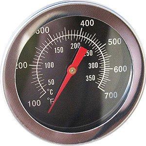 Termômetro Churrasqueira/Forno 350° Cromado