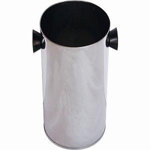 Forma Molde Torre De Batata Bacon Calabresa Aço Inox 30cm