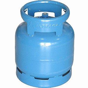 Botijão de Gás P5 Ultragaz Azul
