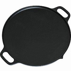 Disco Picanha Carreteiro Tachada tropeiro no fogão ou na brasa em Ferro Fundido 36cm