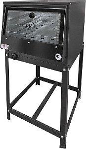 Forno Industrial Pequeno á Gás Com Cavalete Porta Vidro 52 x 35 52 Litros