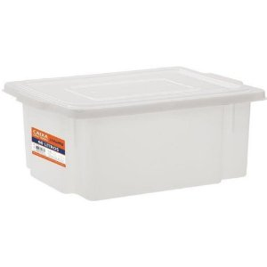 Caixa Plástica Para Alimentos 60 Litros Branca
